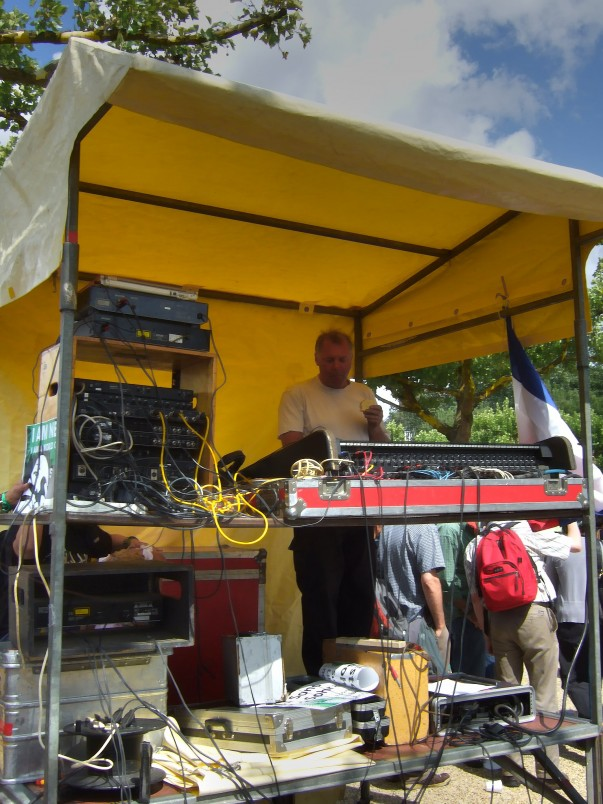 Sound Engineer: And let there be 'sound'!