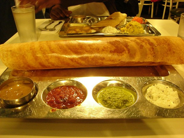 Enjoy eating South Indian delicacies at the Udupi Cafe