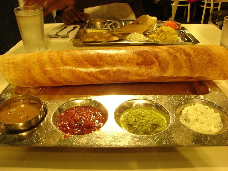 Enjoy eating South Indian delicacies at the Udupi Cafe