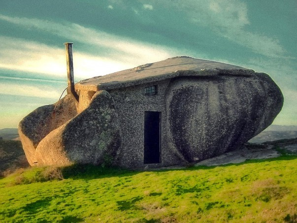 Stone House in Fafe mountains, Portugal