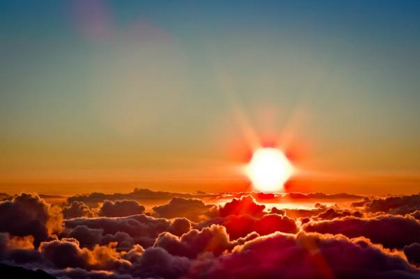 Sunrise at Haleakala