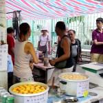 Local Fish Balls shop at Tai O village