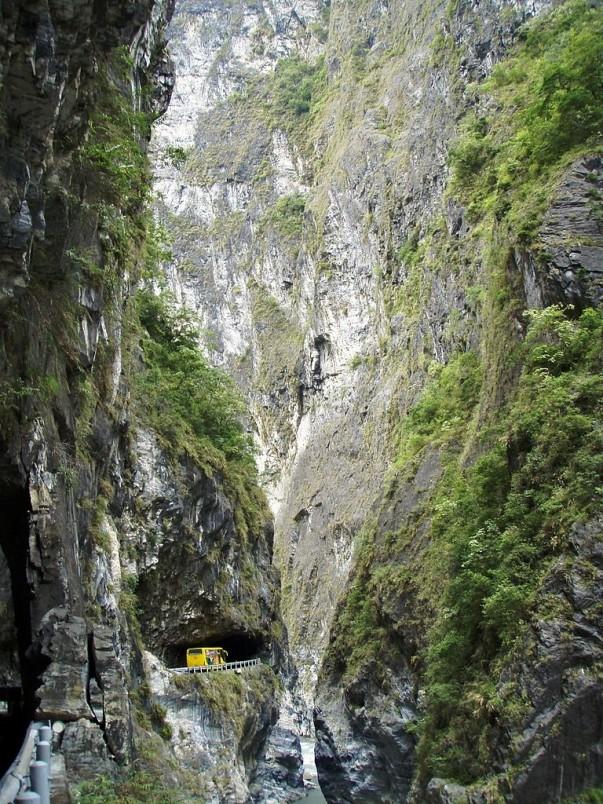 Taroko Gorge Road in Taiwan