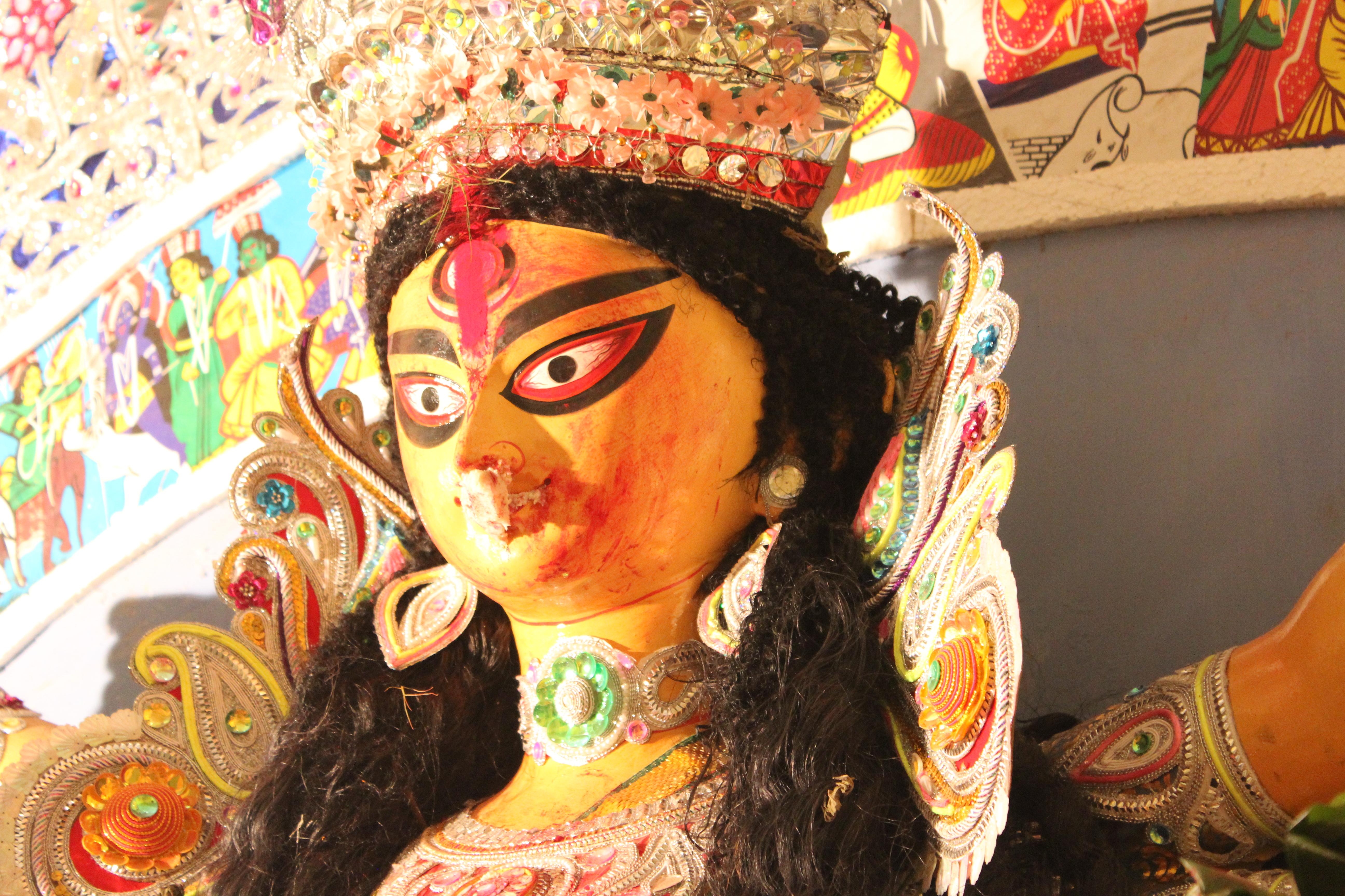 Boron and Visarjan - Bidding Adieu to the Goddess Durga