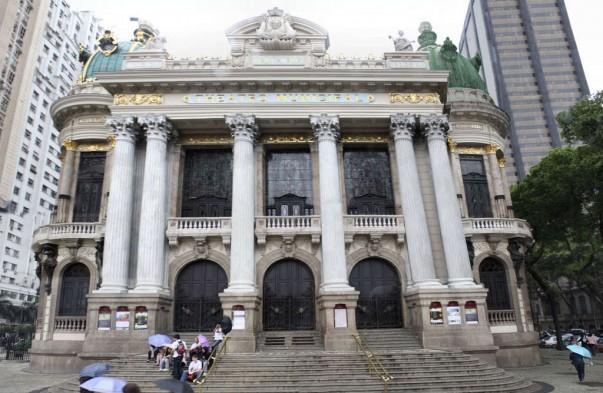 Municipal theater at Rio de Janeiro