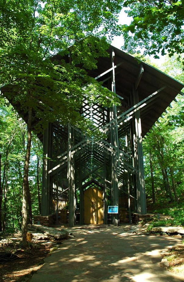 Thorncrown Chapel at Arkansas