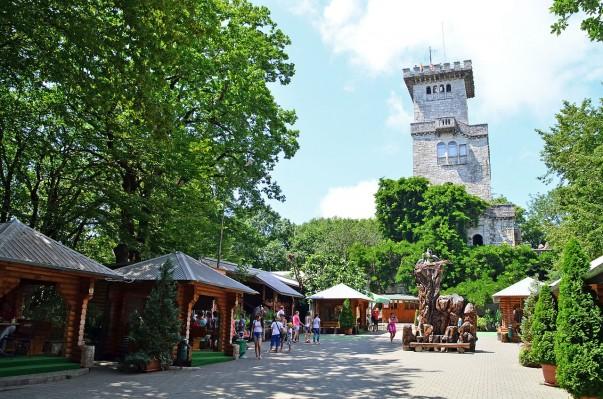 Tower of Mount Akhun