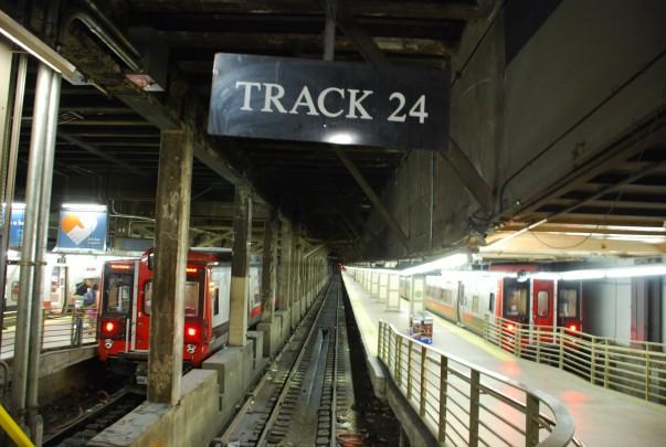 Tracks at Grand Central Terminal