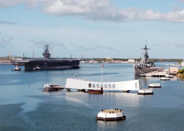 USS Arizona Memorial- Hawaii