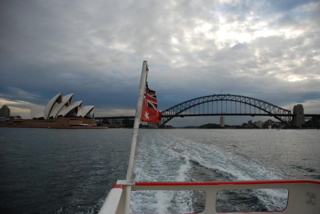 View of Harbor Bridge and Sydney Opera House
