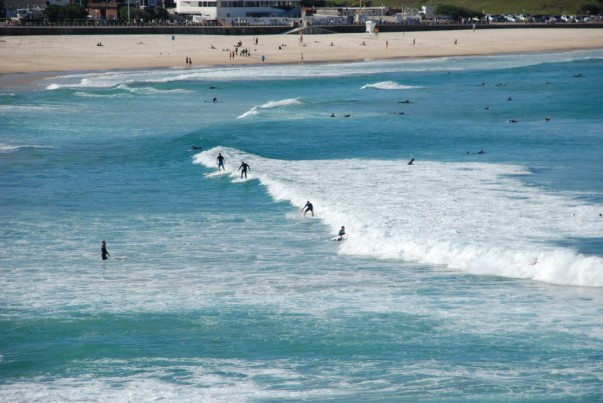 Waves at Bondi Beach for me
