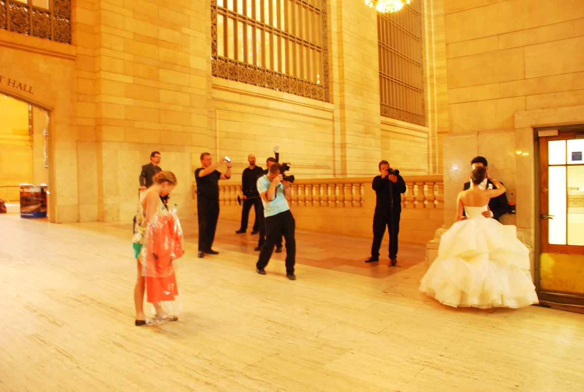 Wedding Shoot at Grand Central Terminal
