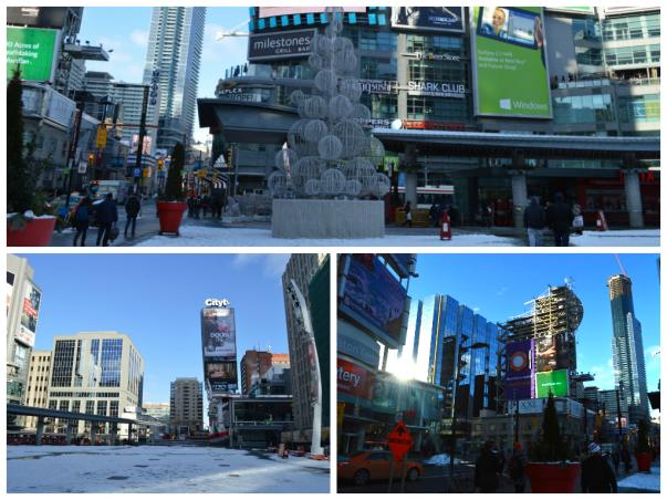 Yonge-Dundas Square of Toronto