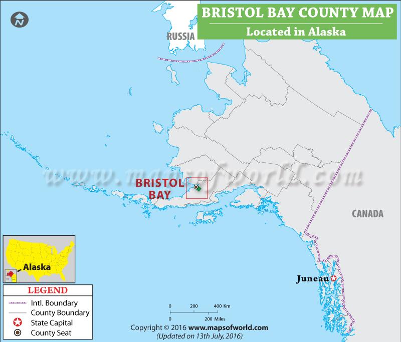 Bristol Bay County Map