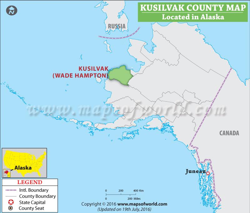 Kusilvak County Map