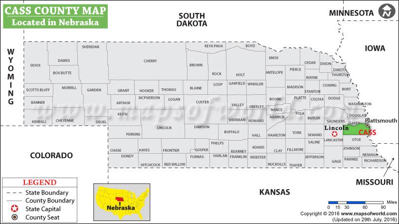 Cass County Map