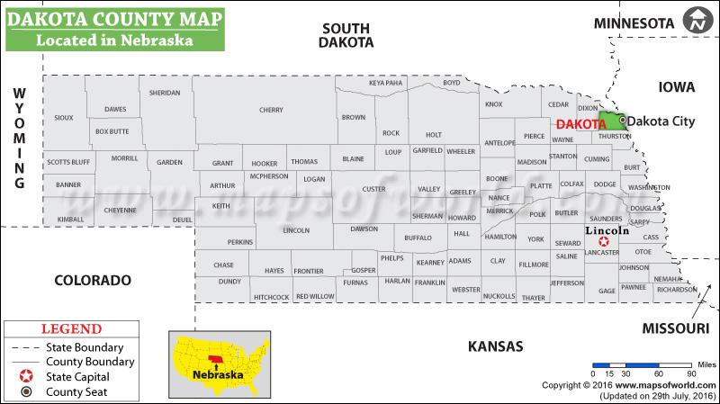 Dakota County Map