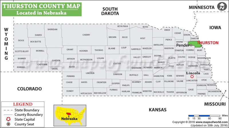 Thurston County Map