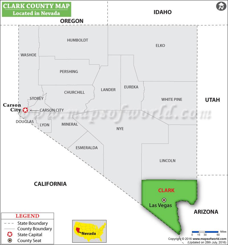 Clark County Map