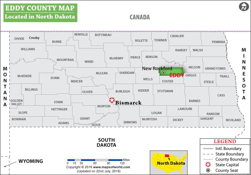 Eddy County Map