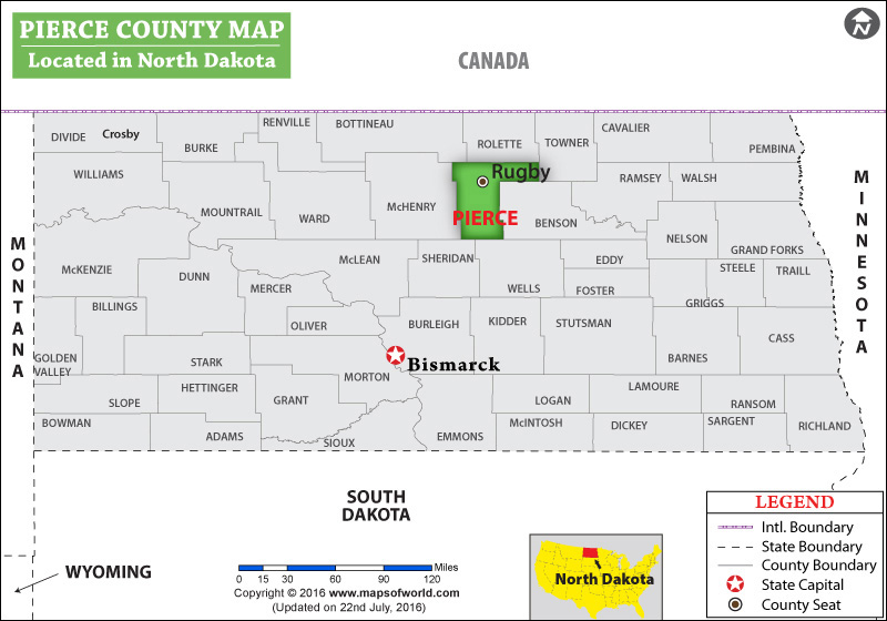 Pierce County Map