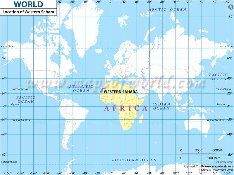 Where is Western Sahara