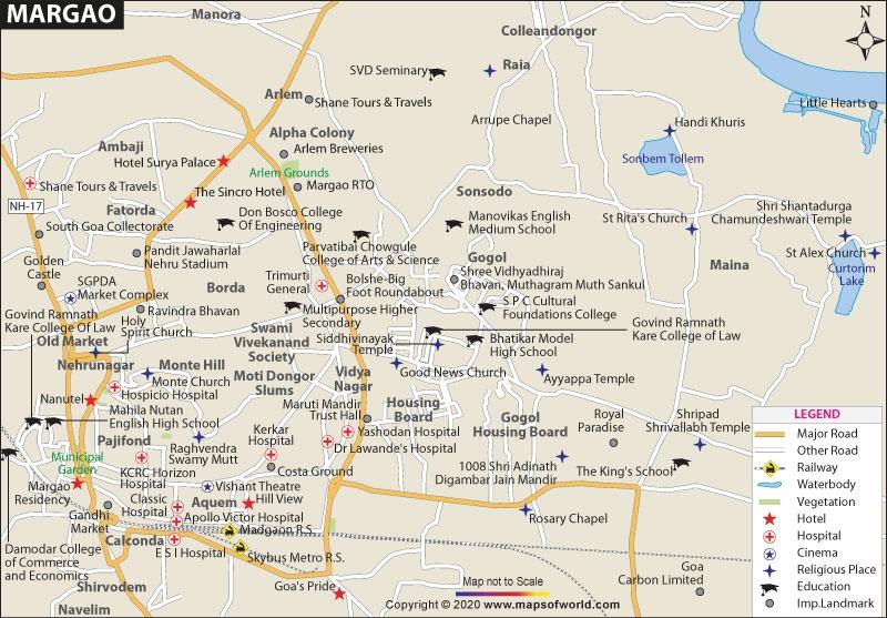 Margao Map