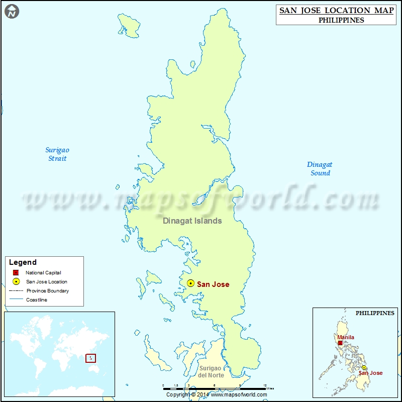 Where is San Jose | Location of San Jose in Philippines Map