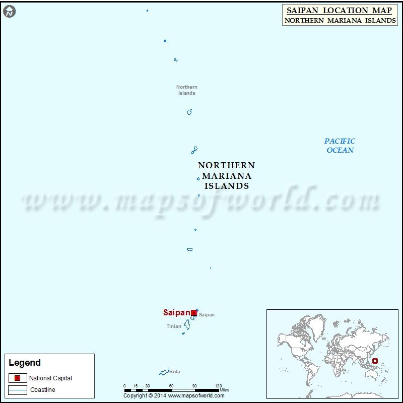 Where is Saipan