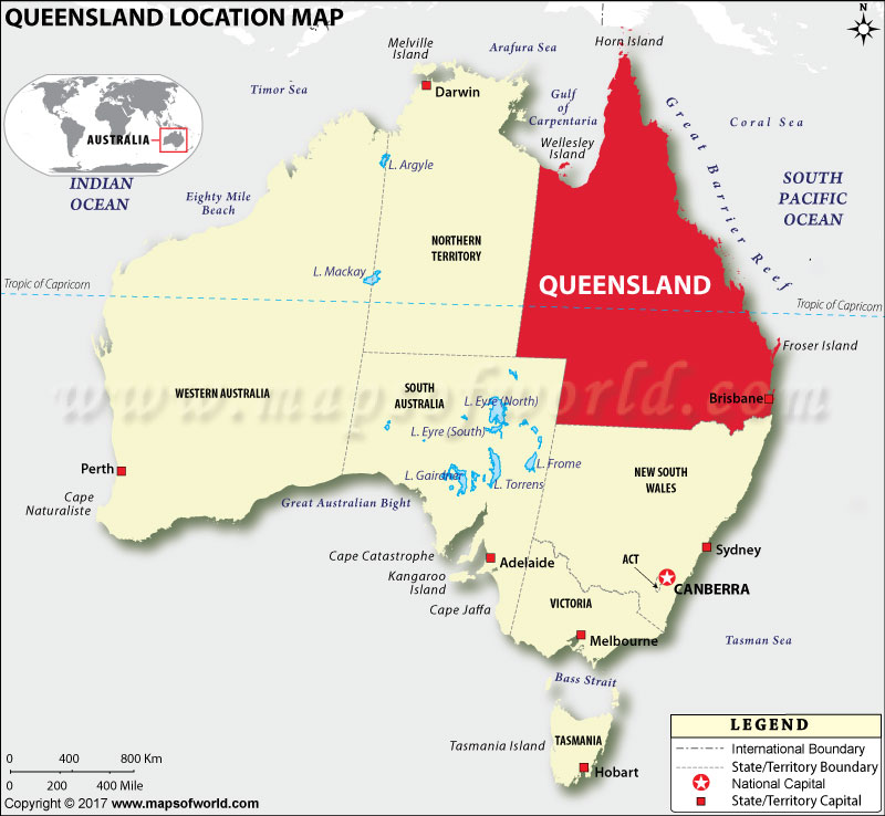 Where is Queensland