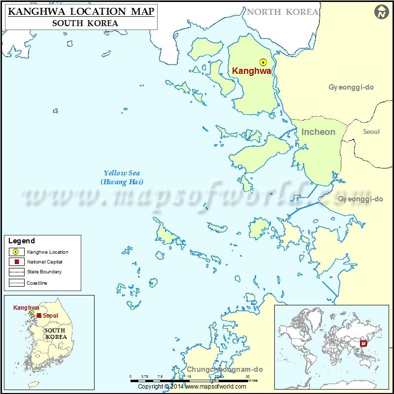 Where is Kanghwa