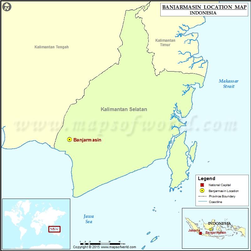 Where is Banjarmasin
