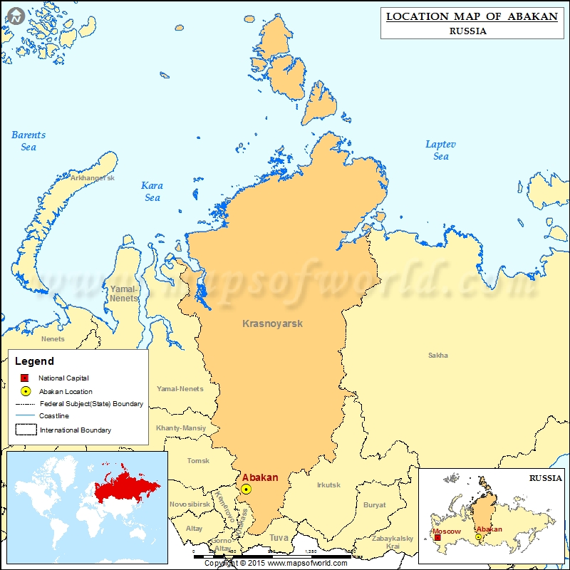 Where is Abakan