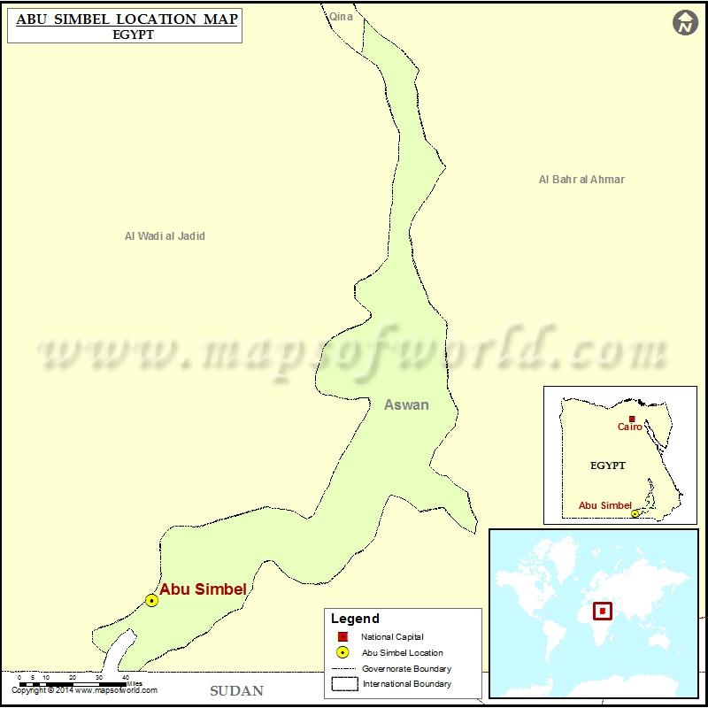 Where is Abu Simbel