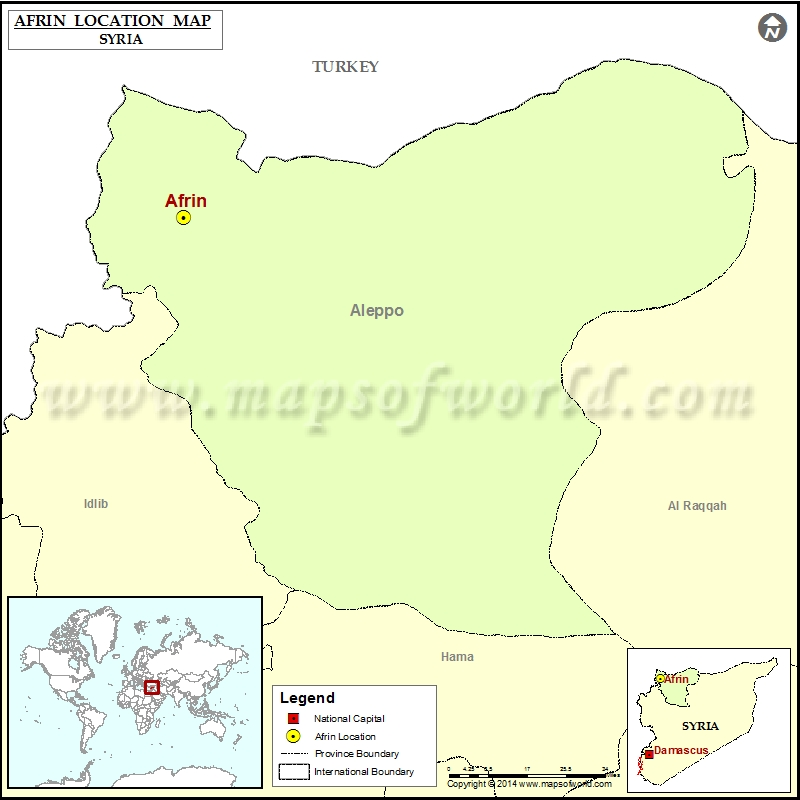Where is Afrin