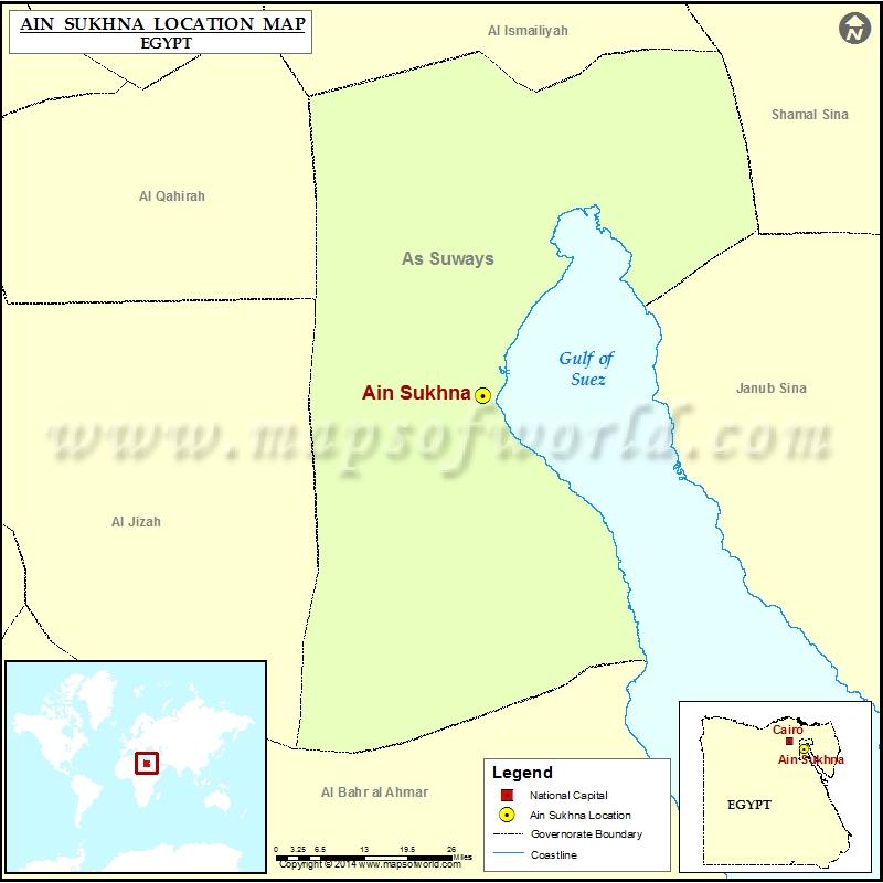 Where is Ain Sukhna