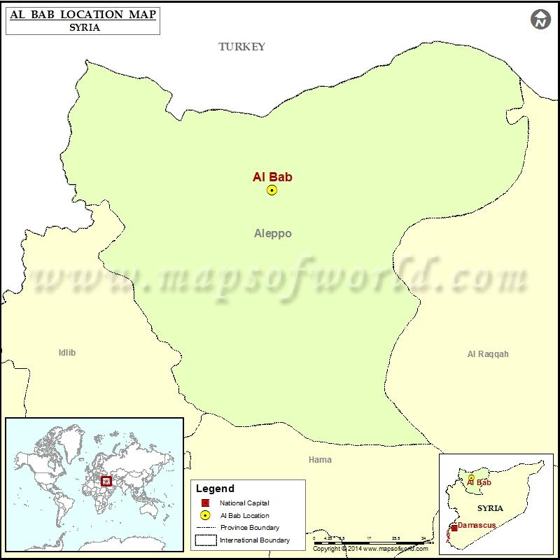 Where is Al Bab
