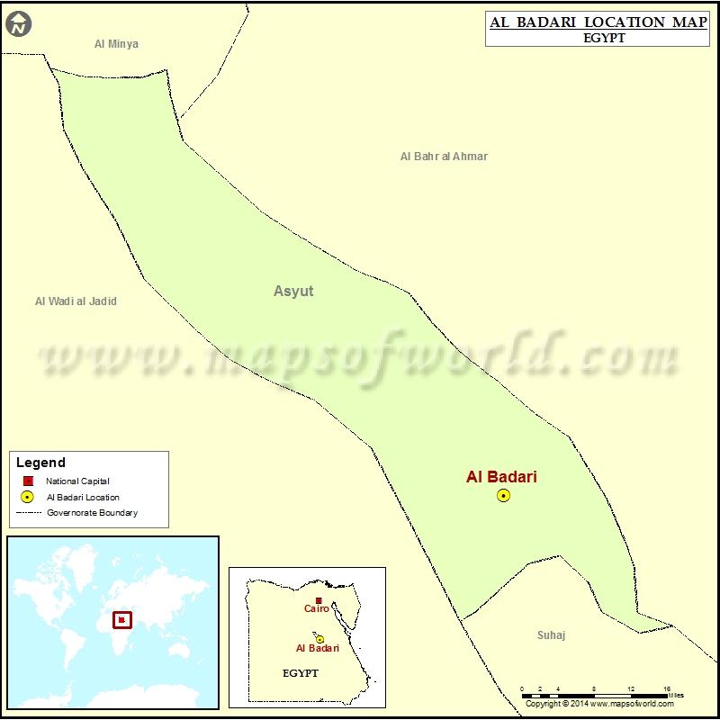 Where is Al Badari