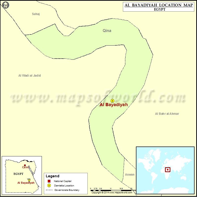 Where is Al Bayadiyah