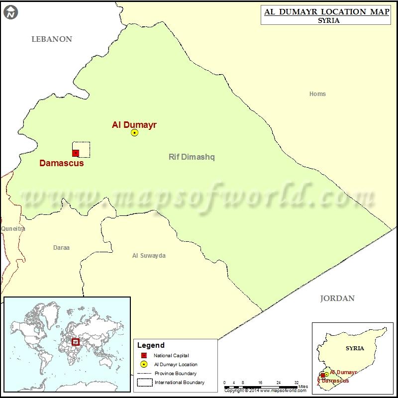 Where is Al-Dumayr