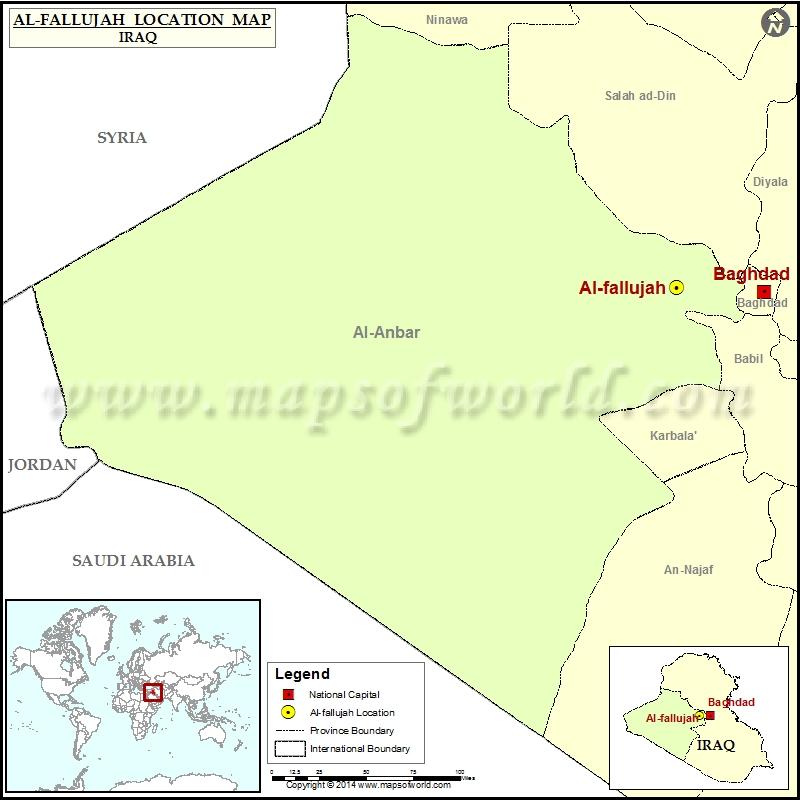 where is al fallujah