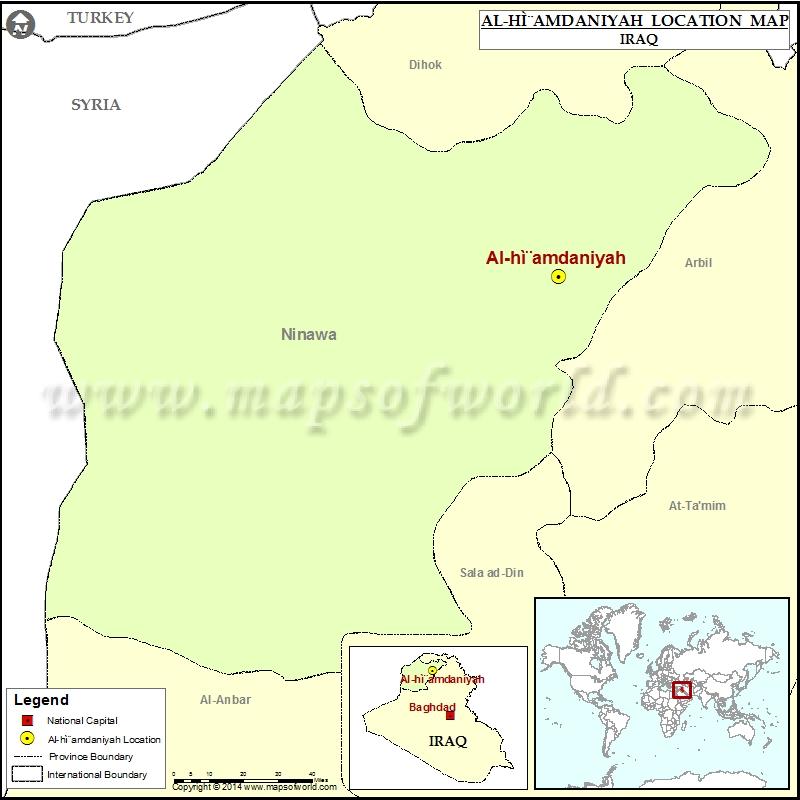 Where is Al hamdaniyah