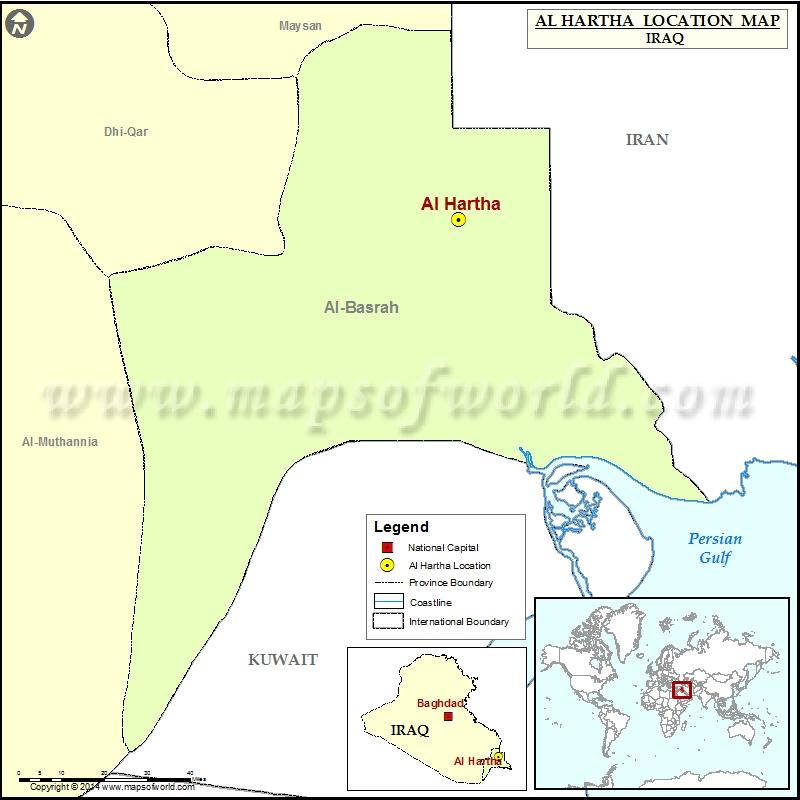 Where is Al Hartha