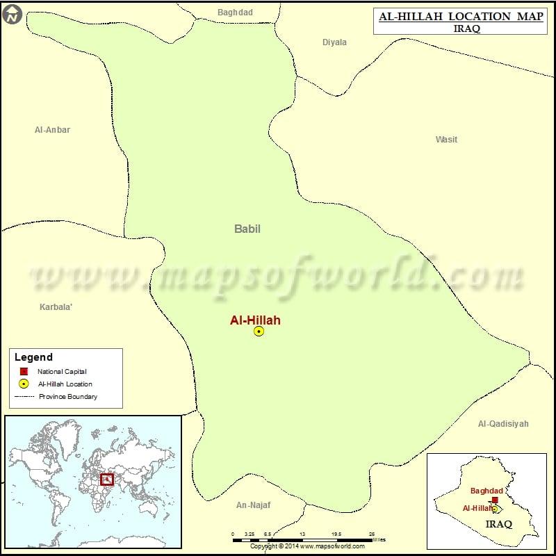 Where is Al Hillah
