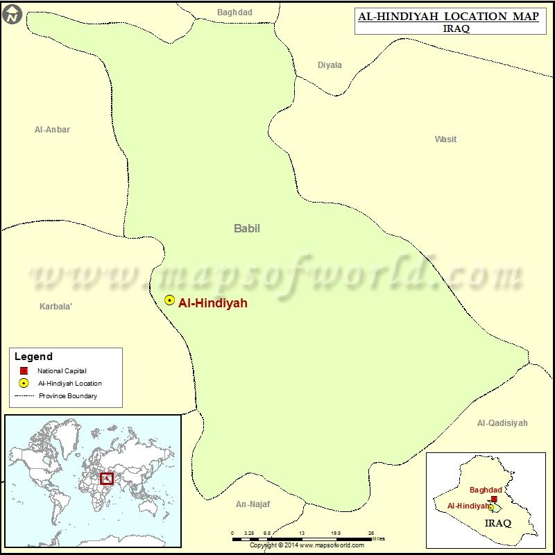 Where is Al Hindiyah