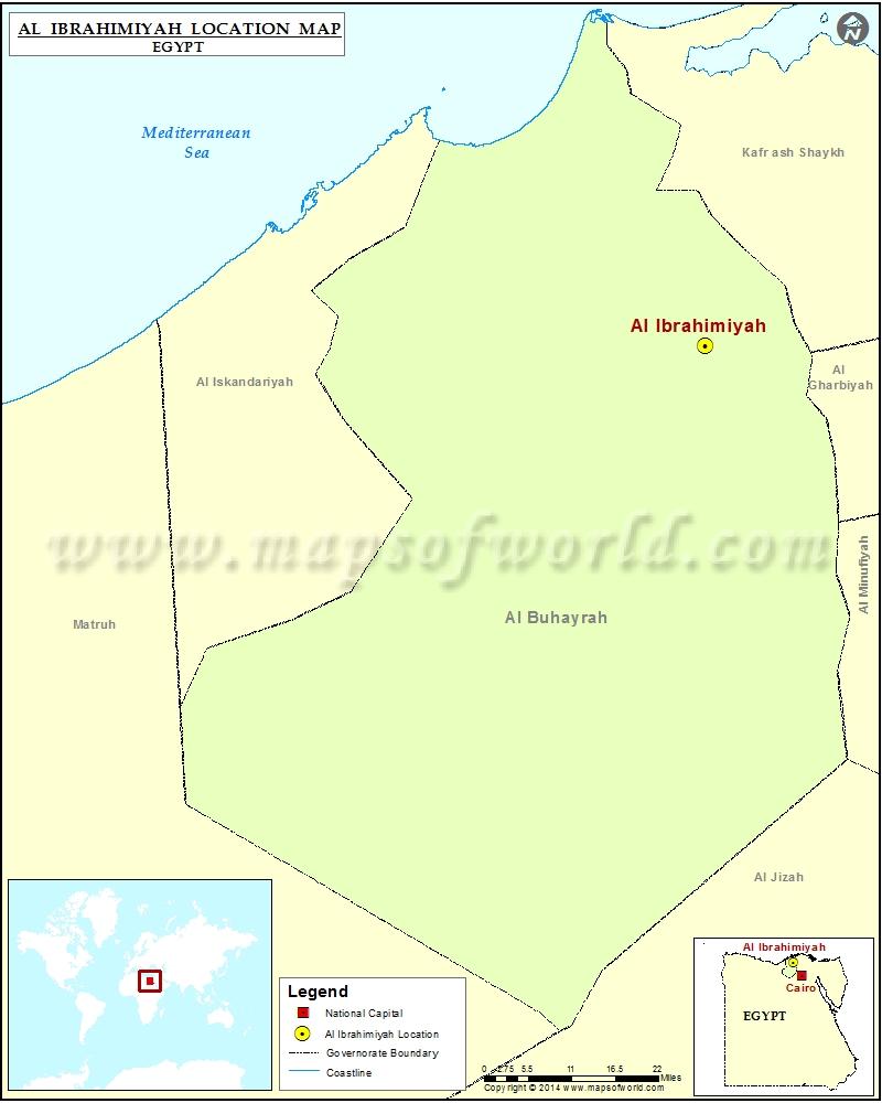 Where is Al Ibrahimiyah