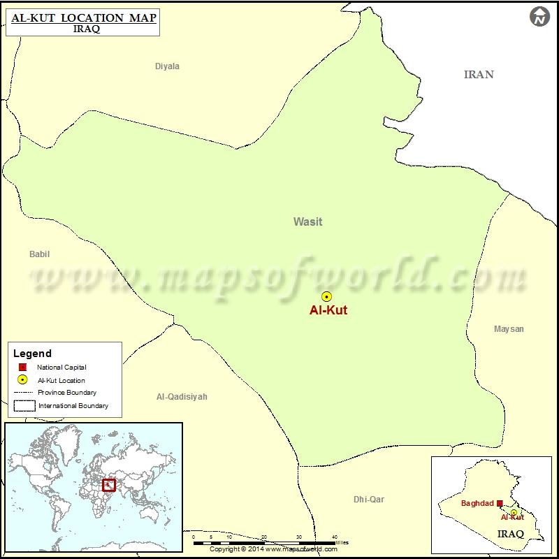 Where is Al Kut