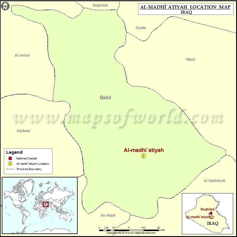 Where is Al madhatiyah