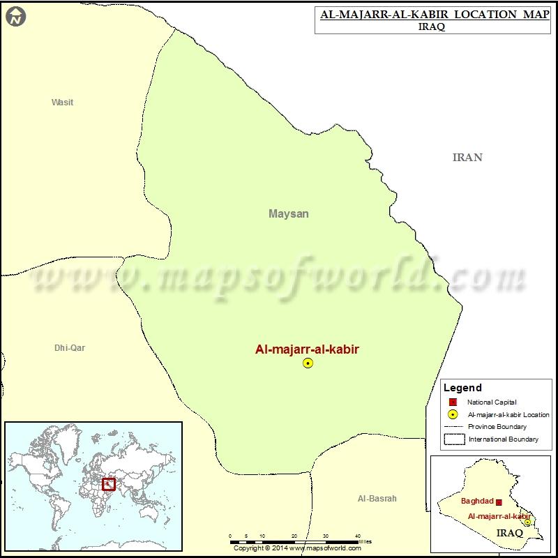 Where is Al majar al kabir