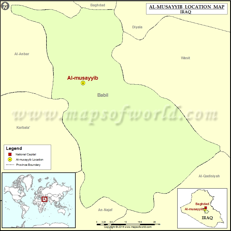 Where is Al musayyib